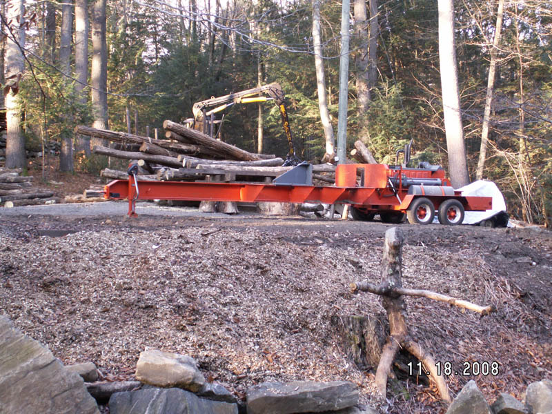 Tractor Splitting Rails : A black locust connection — fence posts rails