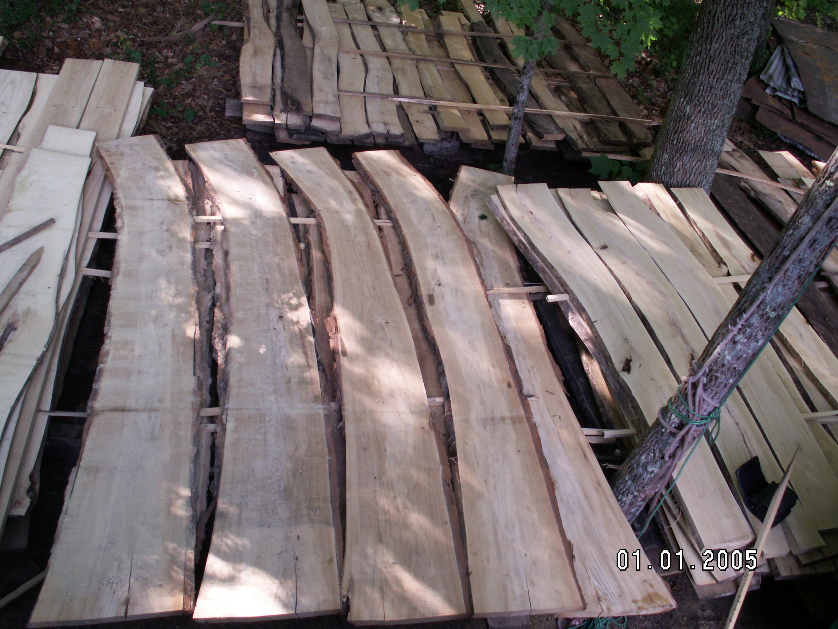 Black Locust Milled Lumber